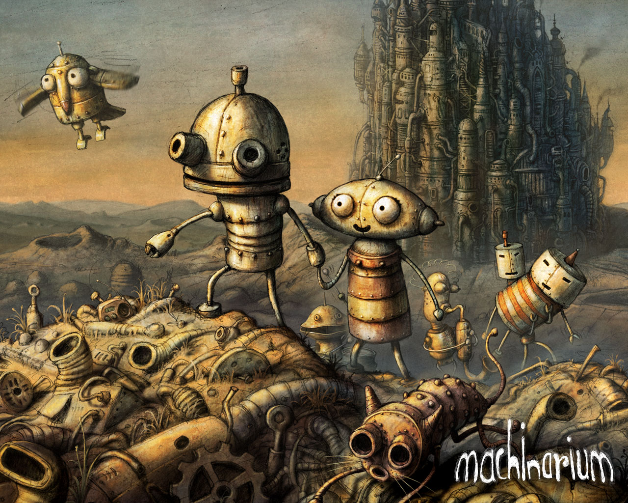 [MF] Machinarium Cover_1280x1024